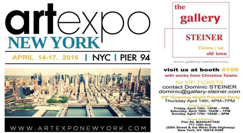 Einladung artexpo NY